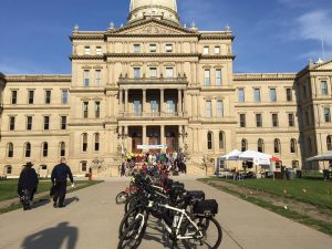 Lucinda Means Bicycle Advocacy Day