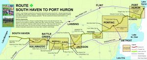 Great Lake to Lake Trail #1: Port Huron to South Haven