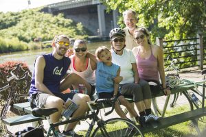 25th Annual Michigander Bicycle Tour, images by Steve Vorderman.